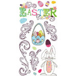 Carolee's Creations - Adornit - Easter Collection - Clear Stickers - Easter