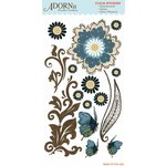 Carolee's Creations - Adornit - Daisy Dew Collection - Clear Stickers - Daisy Dew