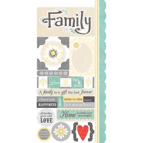Carolee's Creations - Adornit - Capri Collection - Cardstock Stickers - Capri Family