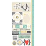 Carolee's Creations - Adornit - Capri Collection - Cardstock Stickers - Capri Family