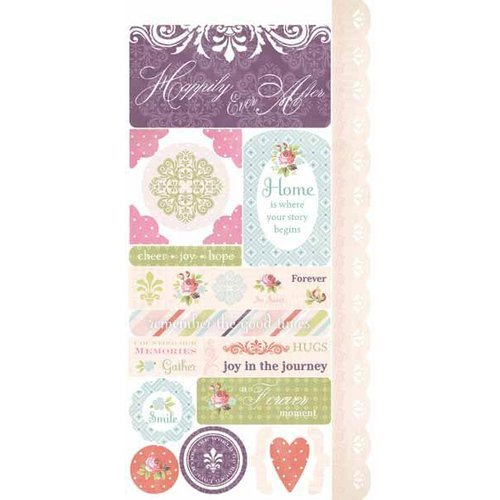 Carolee's Creations - Adornit - Remember When Collection - Cardstock Stickers - Forever Moment