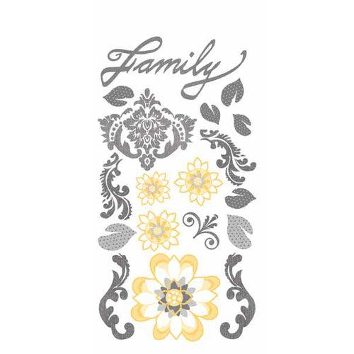 Carolee's Creations - Adornit - Capri Collection - Clear Stickers - Capri