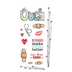 Carolee's Creations - Adornit - Ouch Collection - Clear Stickers - Ouch!