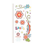 Carolee's Creations - Adornit - Bouquet Patches Collection - Clear Stickers - Bouquet