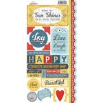 Carolee's Creations - Adornit - Rainy Days and Sunshine Collection - Cardstock Stickers - Sunshine Together