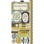 Carolee's Creations - Adornit - Bumble Collection - Cardstock Stickers - Sweet As Honey