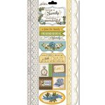 Carolee's Creations - Adornit - Wisteria Collection - Cardstock Stickers - Family