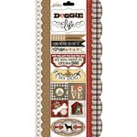 Carolee's Creations - Adornit - Hound Dog Collection - Cardstock Stickers - Furry Friend