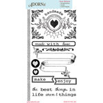 Carolee's Creations - Adornit - Farmhouse Collection - Clear Stickers - Farmhouse