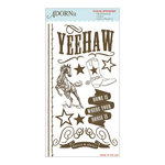 Carolee's Creations - Adornit - Yeehaw Collection - Clear Stickers - Yeehaw