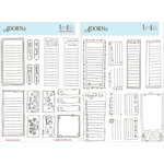 Carolee's Creations - AdornIt - Coloring Stickers - Schedular