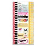 Carolee's Creations - AdornIt - Flamingo Fever Paper Collection - Cardstock Stickers - Flamingo
