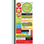 Carolee's Creations Adornit - School Days Collection - Cardstock Stickers - School Friends, CLEARANCE