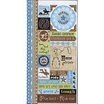 Carolee's Creations Adornit - Wild West Collection - Cardstock Stickers - Cowboy