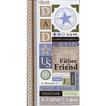 Carolee's Creations Adornit - Boys Are Fun Collection - Cardstock Stickers - Father, CLEARANCE