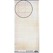 Carolee's Creations Adornit - Sticker Paper - Aged Note Paper, CLEARANCE