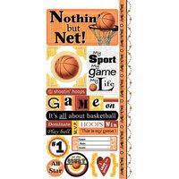 Carolee's Creations - Adornit - Basketball Collection - Cardstock Stickers - Basketball Attitude