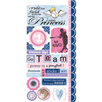 Carolee's Creations - Adornit - Softball Collection - Cardstock Stickers - Softball Attitude