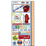Carolee's Creations Adornit - Doggone Cute Collection - Cardstock Stickers - In The Dog House, CLEARANCE
