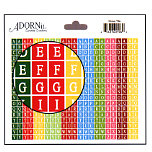 Carolee's Creations Adornit - Holly Jolly Collection - Alphabet Cardstock Stickers - Tiny Christmas