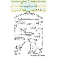 Colorado Craft Company - Clear Photopolymer Stamps - Wishing