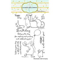 Colorado Craft Company - Clear Photopolymer Stamps - Birthday Wishing