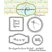 Colorado Craft Company - Clear Photopolymer Stamps - This Is Us Frames