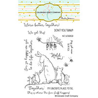 Colorado Craft Company - Clear Photopolymer Stamps - Better Together