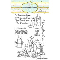 Colorado Craft Company - Clear Photopolymer Stamps - Wonderful Time