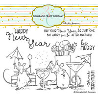 Colorado Craft Company - Clear Photopolymer Stamps - Party Time
