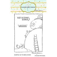 Colorado Craft Company - Clear Photopolymer Stamps - Best Sledding