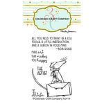 Colorado Craft Company - Clear Photopolymer Stamps - Mini - The Artist
