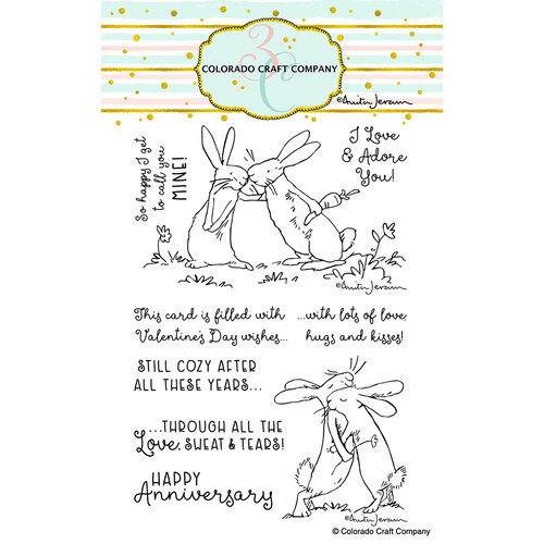 Colorado Craft Company - Clear Photopolymer Stamps - Lots of Love