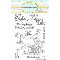 Colorado Craft Company - Clear Photopolymer Stamps - Happy Easter