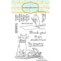 Colorado Craft Company - Clear Photopolymer Stamps - Thank You Kindly