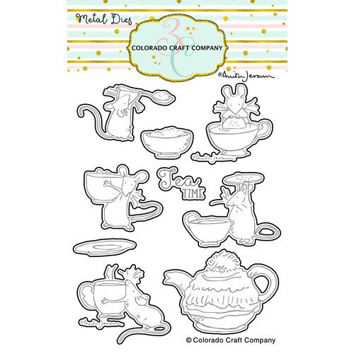 Colorado Craft Company - Dies - Tea Time Fun