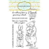 Colorado Craft Company - Clear Photopolymer Stamps - Snuggles