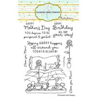 Colorado Craft Company - Clear Photopolymer Stamps - For Mom