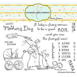 Colorado Craft Company - Clear Photopolymer Stamps - Amazing Mom