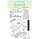 Colorado Craft Company - Clear Photopolymer Stamps - Dad's Cooking