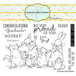 Colorado Craft Company - Clear Photopolymer Stamps - Proud Of You