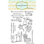 Colorado Craft Company - Clear Photopolymer Stamps - Love Art