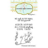Colorado Craft Company - Clear Photopolymer Stamps - Mini - Make A Wish