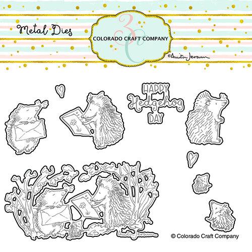Colorado Craft Company - Dies - Hedgehog Day