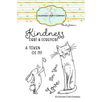 Colorado Craft Company - Clear Photopolymer Stamps - Kindness First