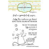 Colorado Craft Company - Clear Photopolymer Stamps - Spoonful of Sugar