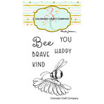 Colorado Craft Company - Clear Photopolymer Stamps - Mini - Bee You