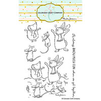 Colorado Craft Company - Clear Photopolymer Stamps - Get Together