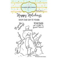 Colorado Craft Company - Clear Photopolymer Stamps - Christmas - Teamwork