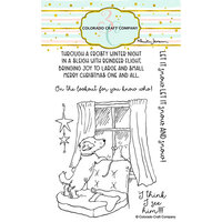 Colorado Craft Company - Clear Photopolymer Stamps - Christmas - On the Lookout